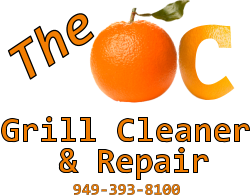 The OC Grill Cleaner Logo